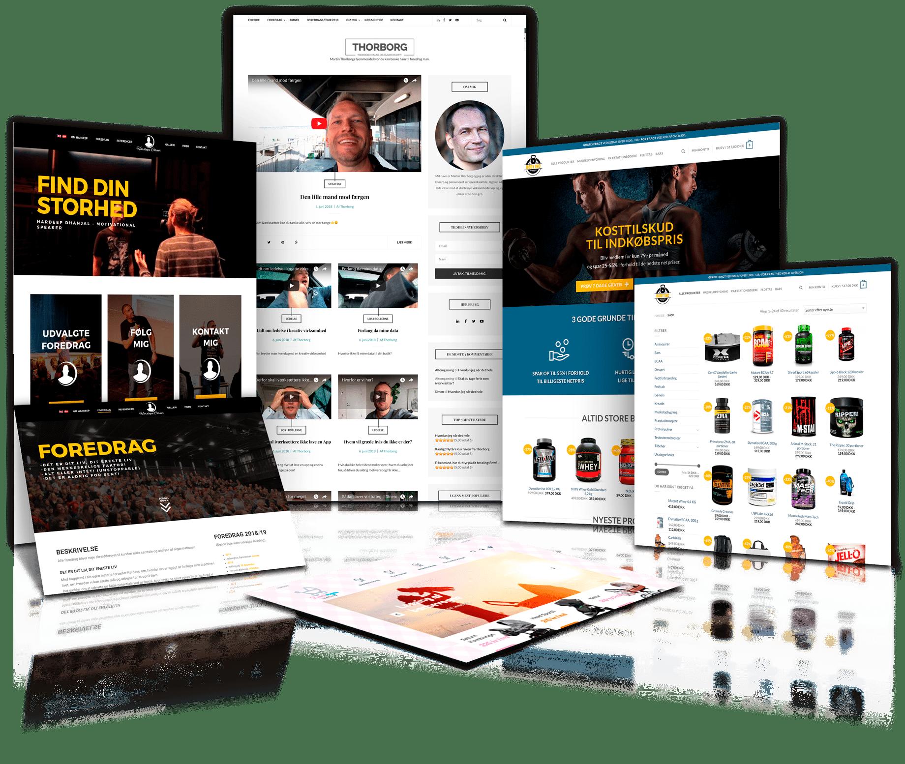 Ny hjemmeside fra 100% Webbureau