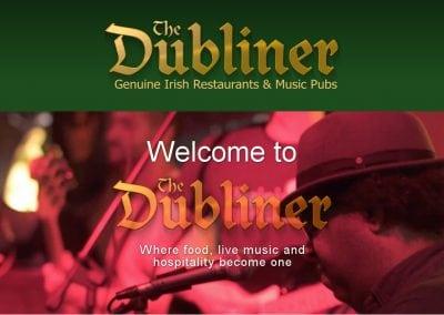 Ny hjemmeside til The Dubliner