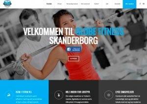 Ny hjemmeside til Globe Fitness