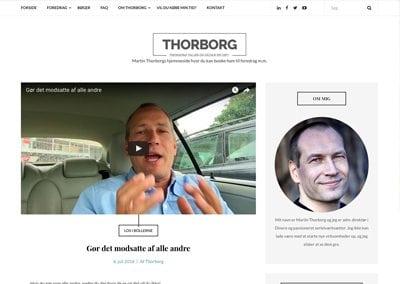 Ny hjemmeside til Martin Thorborg