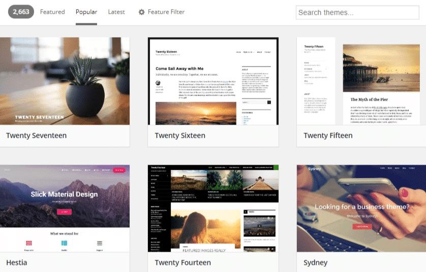 Ny hjemmeside webside design