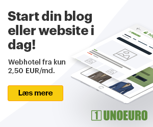 Bestil billig hosting hos UnoEuro