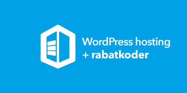 wordpress hosting rabatkoder
